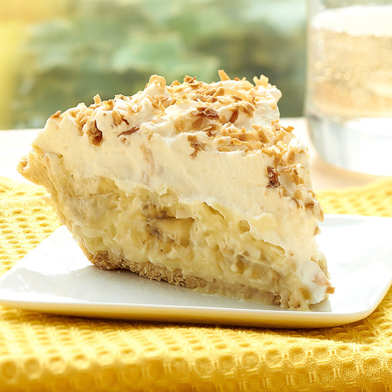 Banana Coconut Cream Pie - Little Pie Company