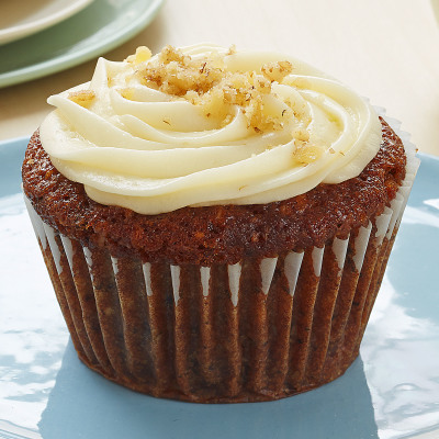 Carrot Cupcake Cream Cheese Icing