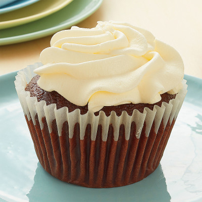 Chocolate Cupcake Vanilla Buttercream Icing