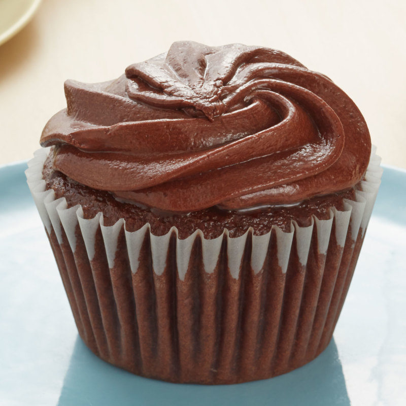 Chocolate Cupcake Chocolate Buttercream Icing