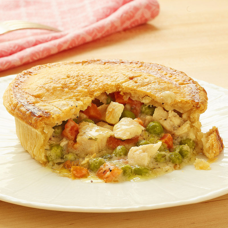 Piping-Hot Chicken Pot Pie
