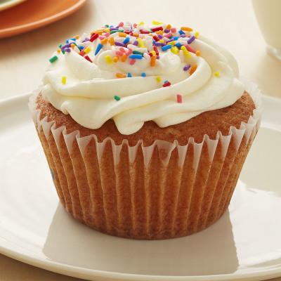 Vanilla Cupcake Vanilla Buttercream Icing Sprinkles