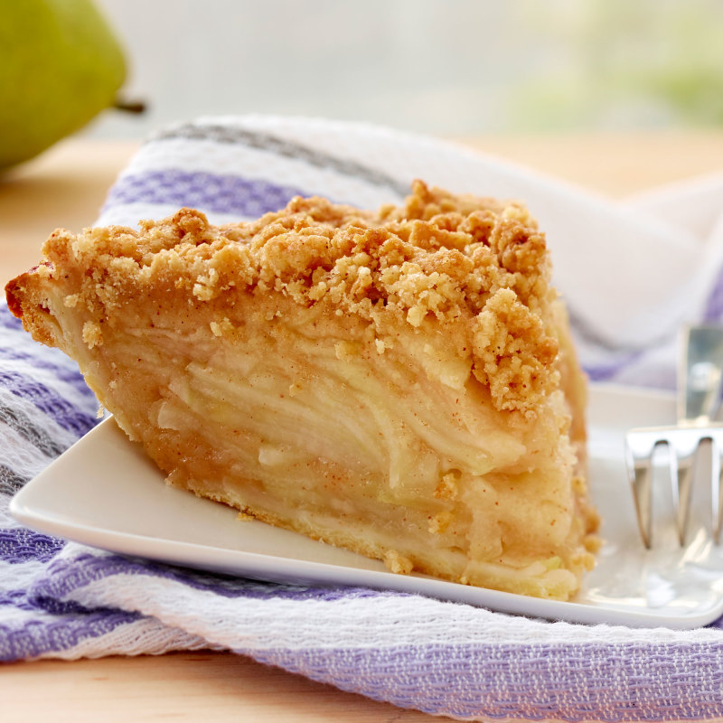 Pear Apple Crumb Pie