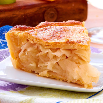 Cheddar Crust Apple Pie