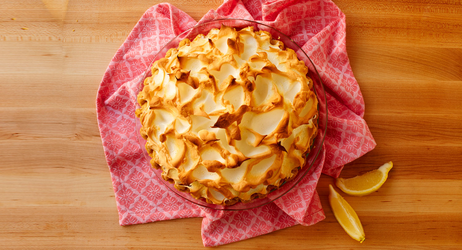 July's Pie of the Month: Lemon Meringue