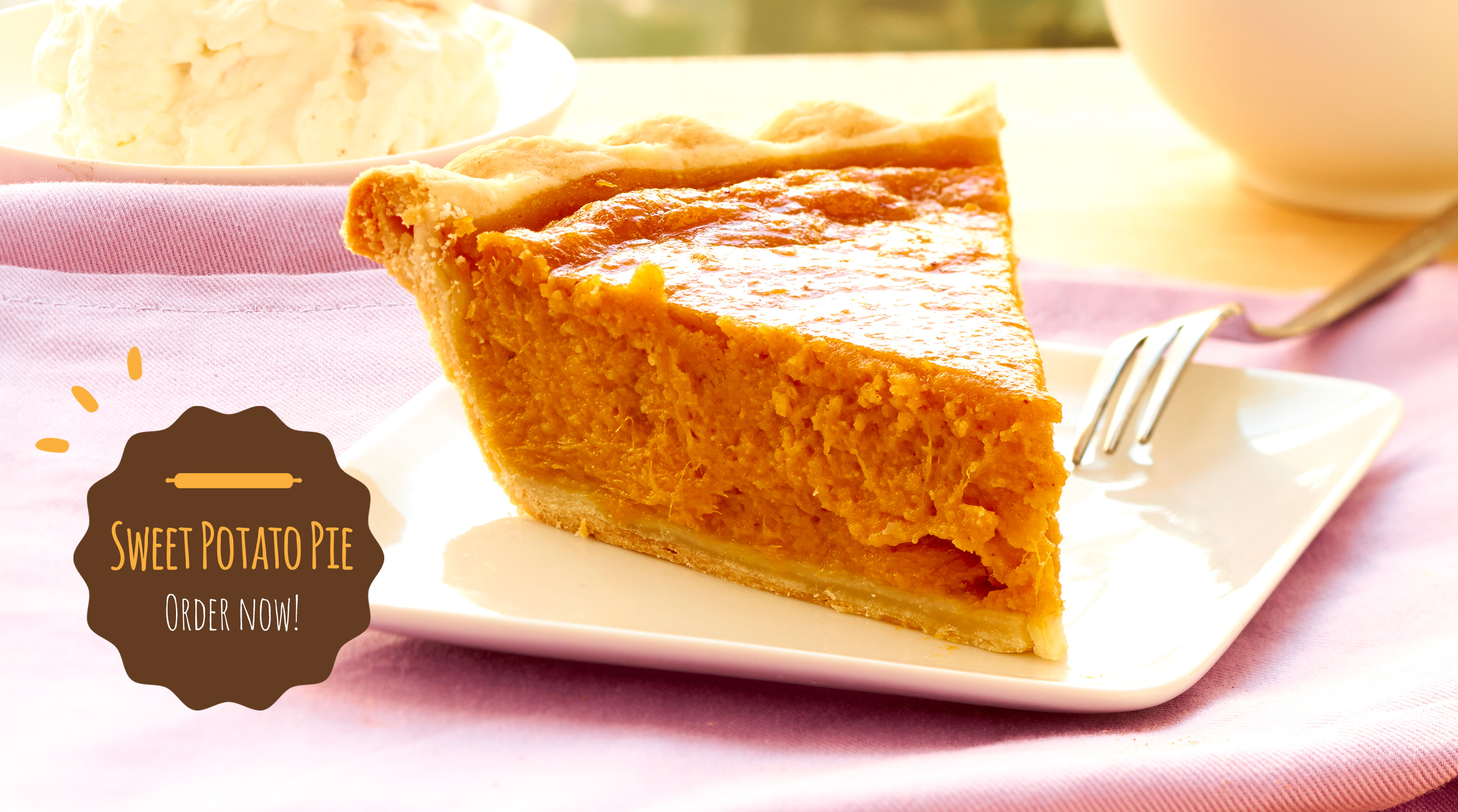 Pie of the Month—Sweet Potato Pie