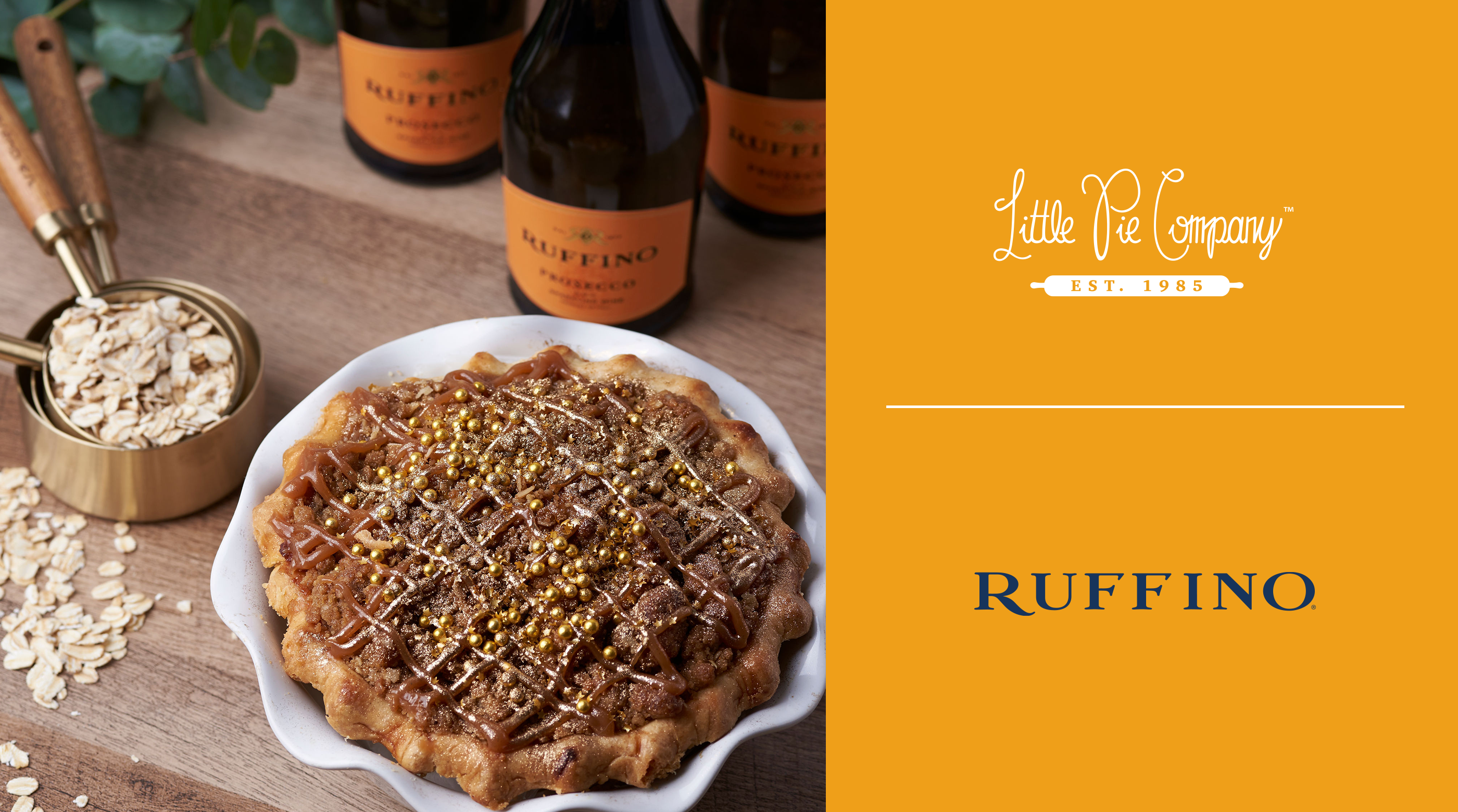 Pie of the Month — Ruffino Salted Caramel Prosecco Pie